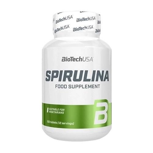 BiotechUSA Spirulina, 100 tabs