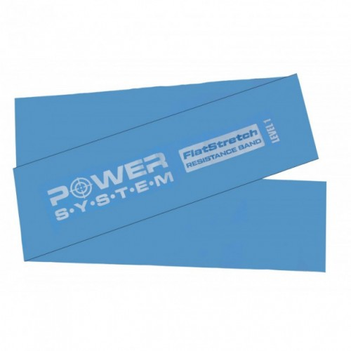 PowerSystem Flat Stretch Band Level 1, PS-4121 (Blue)