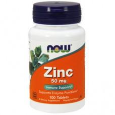NOW Zinc Gluconate 50mg, 100 tab