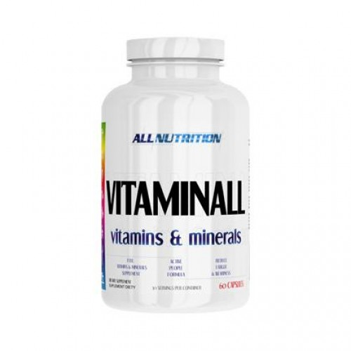 All Nutrition VitaminAll, 60 caps