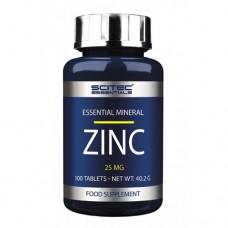 Scitec Essentials Zinc (25 mg) 100 tabs