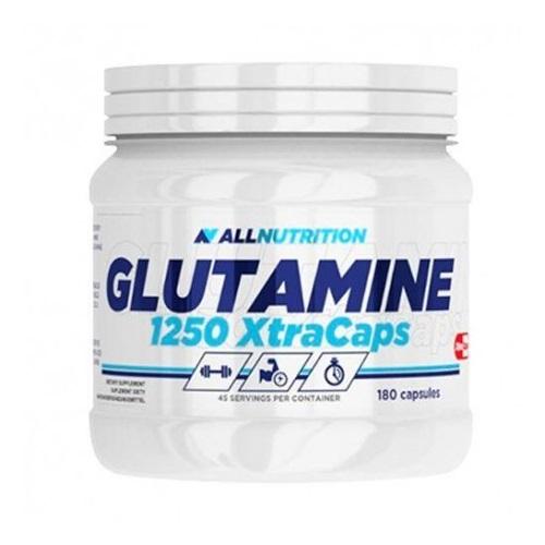 All Nutrition Glutamine 1250 Xtracaps - 180 caps