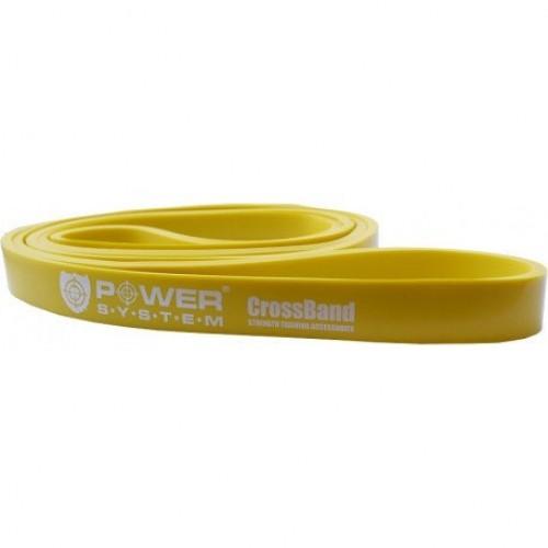 PowerSystem Резиновая петля для тренировок PS-4051 Yellow