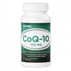 GNC INTL Coenzime Q-10 100 mg, 30 caps