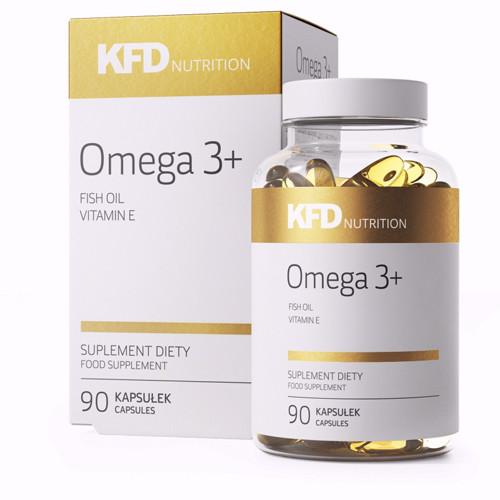 KFD Omega 3+ - 90 caps.