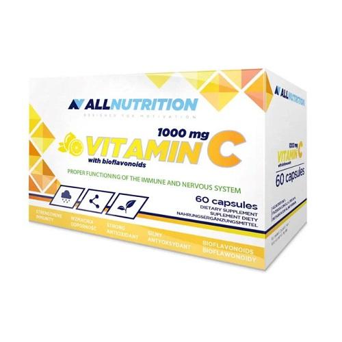 All Nutrition Vitamin C 1000 mg + Bioflaw - 60 caps