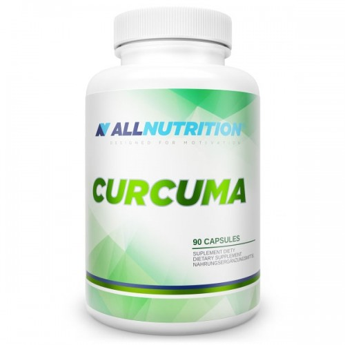 All Nutrition Adapto Curcuma, 90 caps