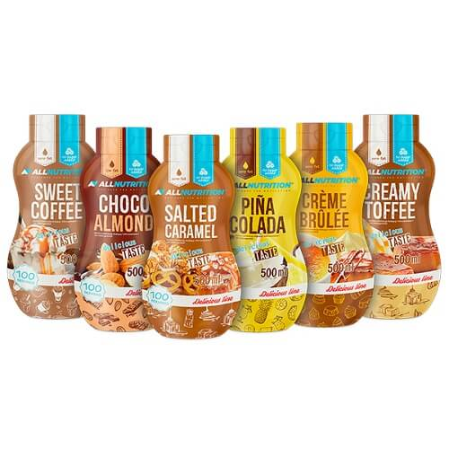 All Nutrition Sweet Sauce - 500ml