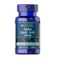 Puritan's Pride Alpha Lipoic Acid 100 mg, 60 caps