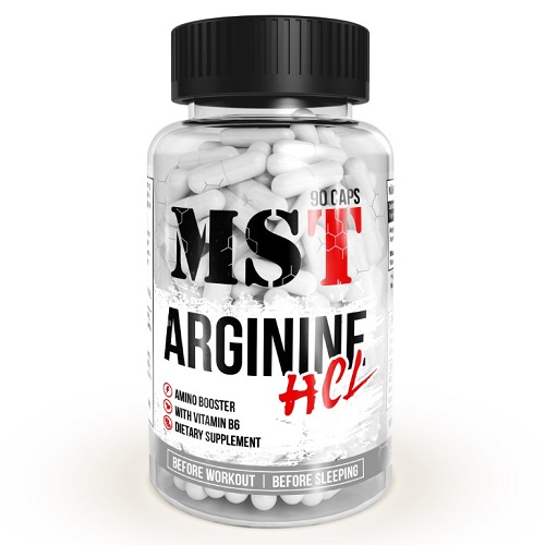 MST Arginine HCL, 90 капс.