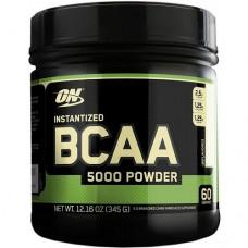 Optimum Nutrition (USA) BCAA 5000 powder, 345 g (без вкуса)
