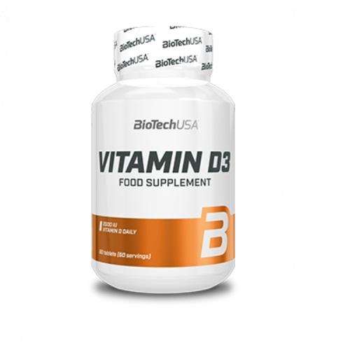 BiotechUSA Vitamine D3 60 капсул