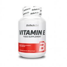 BiotechUSA Vitamin E 100 tabs
