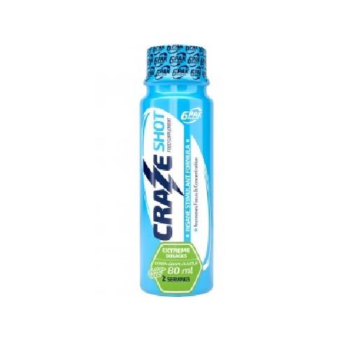 6PAK Nutrition CRAZE shot, 80 ml