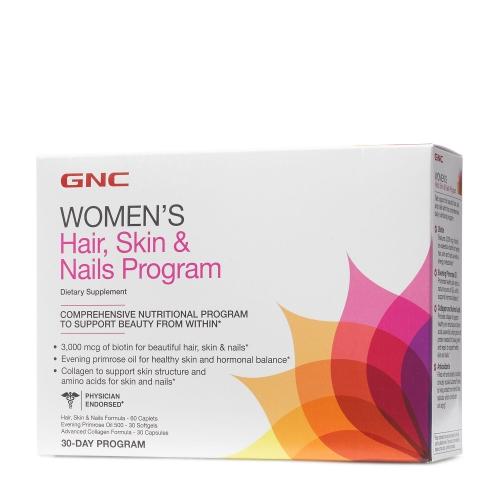 GNC HAIR, SKIN AND NAILS PROGRAM 30 pak