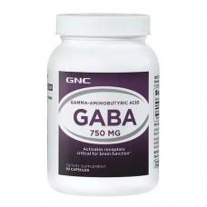 GNC GABA 750 mg, 90 caps