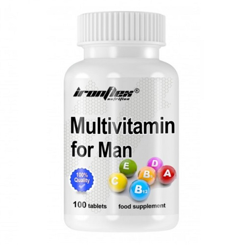 IronFlex Multivitamin for Men 100 tab