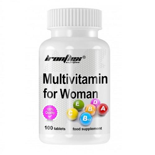 IronFlex Multivitamin for Women 100 tab
