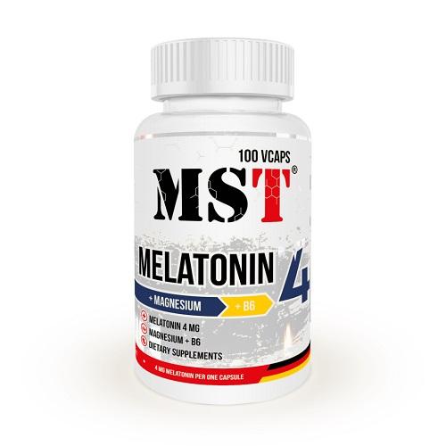 MST Melatonin 4mg + MGB6, 100 таб.