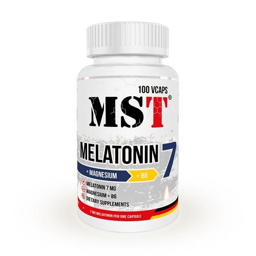 MST Melatonin 7mg + MGB6, 100 таб.