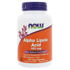 NOW Alpha Lipoic Acid 100 mg, 60 caps