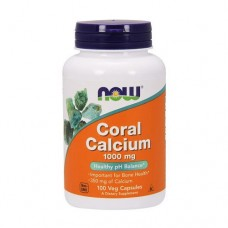 NOW Coral Calcium 1000 mg, 100 caps