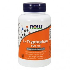 NOW L-Tryptophan 500mg, 60 caps