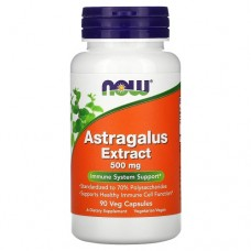 NOW Astragalus Extract 70% 500mg, 90 caps