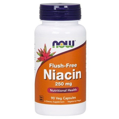 NOW Flush Free Niacin 250 mg, 90 caps