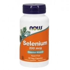 NOW Selenium 200, 90 caps