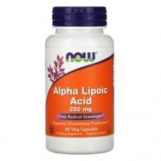 NOW Alpha Lipoic Acid 250 mg, 60 капс.