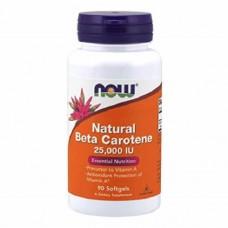 NOW Beta Carotene, 90caps
