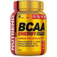 Nutrend BCAA Energy Mega Strong Powder, 500 гр.