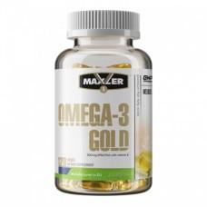 Maxler Omega-3 Gold, 120 caps