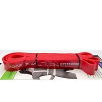 PowerPlay  Гумова петля для тренувань 4115 (Червона 14-39 кг)