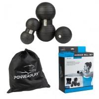 PowerPlay Набір масажних м'ячиків PP-4007
