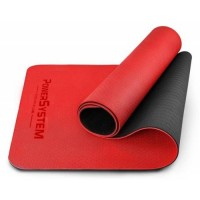 PowerSystem Yoga Mat Premium Килимок для фітнесу і йоги PS-4060