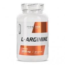 Progress Nutrition L-arginine, 60 caps