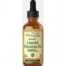 Puritan's Pride Liquid Vitamin D3 5000IU 59 ml