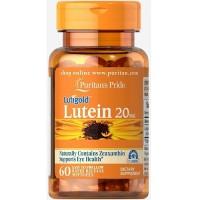 Puritan`s Pride Lutein 20 mg, 60 caps