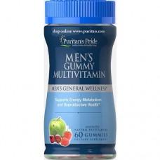 Puritan's Pride Men's Gummy Multivitamin - 60 gummies