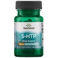 Swanson 5-HTP Extra Strength 100mg, 60 caps