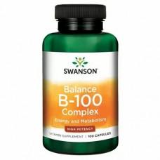 Swanson Balance B-200 Complex, 100 caps