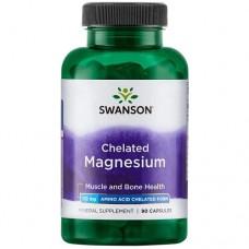 Swanson Chelated Magnesium 133mg, 90 caps