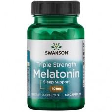 Swanson Melatonin 10mg, 60 caps