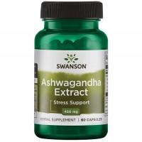 Swanson Ashwagandha Extract 450mg, 60 caps