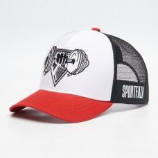 SportFaza Бейсболка - Красная с белым