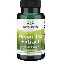 Swanson Green Tea Extract 500 мг, 60 капс.
