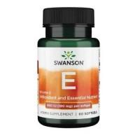 Swanson Vitamin E 400IU, 60 капс.