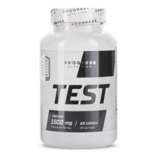 Progress Nutrition TEST 1500 mg, 60 tabs